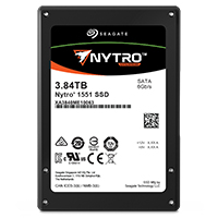 "Seagate Nytro 1551 internal solid state drive 2.5"" 3840 GB Serial ATA III 3D TLC"