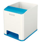 Leitz 53631036 Polystyrene Blue, White pen/pencil holder