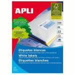 APLI 1281 LABELS A4 1UP SQUARE CORNERS 210.0X297.0 100 SHEETS
