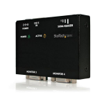 StarTech.com VGA over Cat5 Receiver Black AV receiver