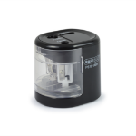 Rapesco PS12-USB Electric pencil sharpener Black,Transparent