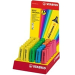 Stabilo 70/40-3 Blue,Green,Orange,Pink,Red,Yellow 40pc(s) marker