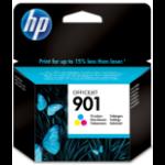 HP 901 Origineel Cyaan, Magenta, Geel