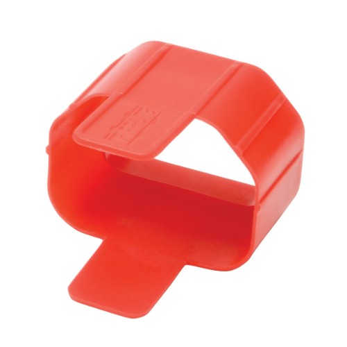 Tripp Lite Plug Lock Connector C14 Power Cord / Lead to C13 Outlet Inserts - Red (Pack of 100)