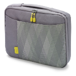 Dicota 11.6-Inch Notebook Slim Case - Grey/Yellow (D30344)