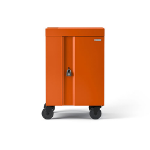 Bretford CUBE Cart Mini Portable device management cart Orange