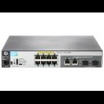 Hewlett Packard Enterprise Aruba 2530 8 PoE+ Internal PS Managed L2 Fast Ethernet (10/100) Power over Ethernet (PoE) 1U Gray