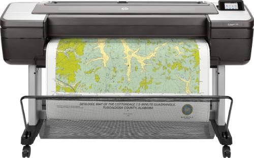 HP Designjet T1700 44-in PostScript large format printer Thermal inkjet Colour 2400 x 1200 DPI 1118 x 1676 mm