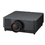 Sony VPL-FHZ131L data projector 13000 ANSI lumens 3LCD WUXGA (1920x1200) Ceiling-mounted projector Black