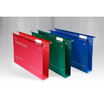 Rexel Crystalfile Classic Foolscap Suspension File 50mm Red (50)
