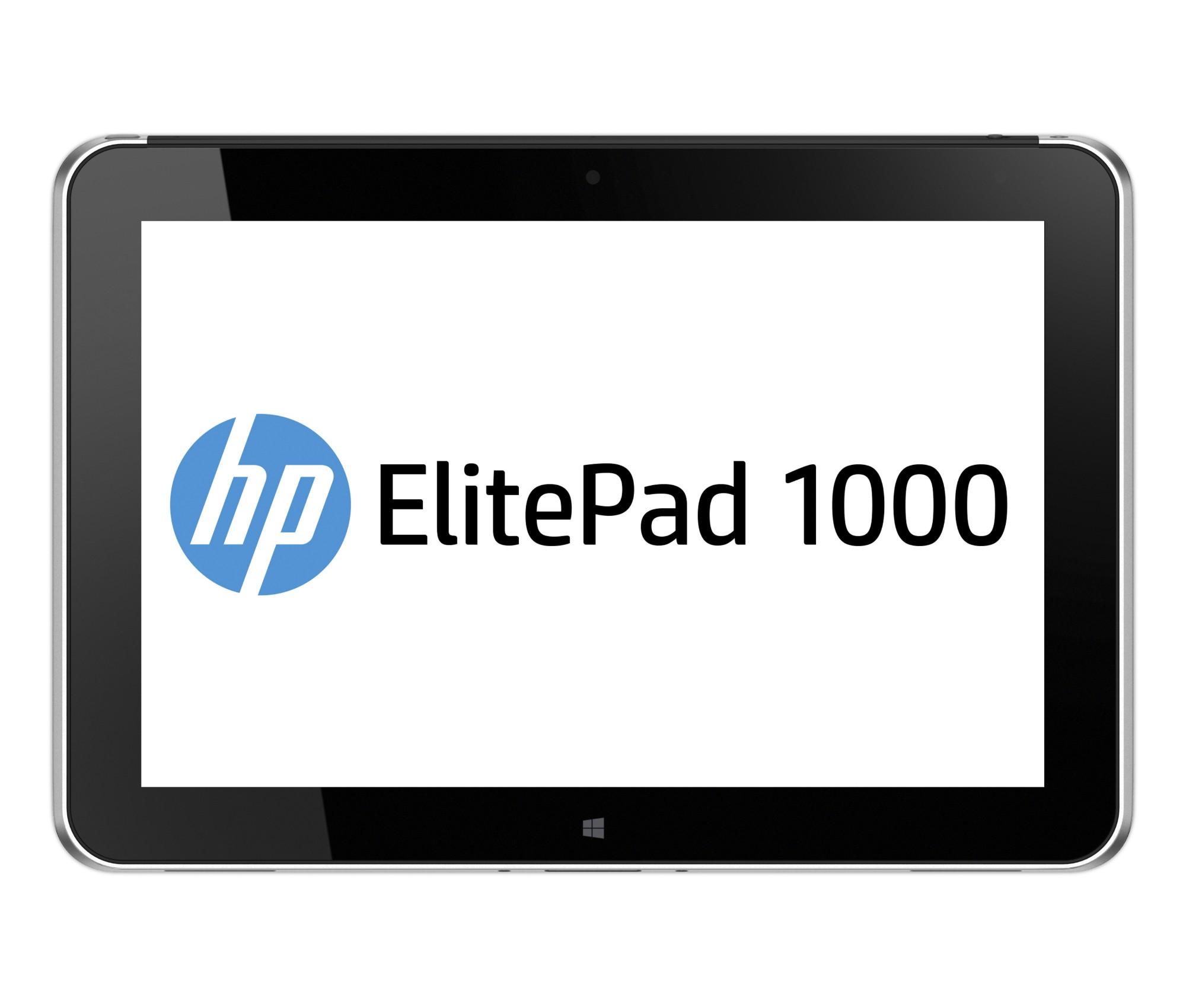 HP ElitePad 1000 G2 64GB Silver tablet