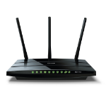 TP-LINK Archer C7 Dual-band (2.4 GHz / 5 GHz) Gigabit Ethernet Black wireless router