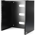 StarTech.com 12U Wall-Mount Bracket for Shallow Rack-Mount Equipment - 13 75in. (34.93cm) Deep