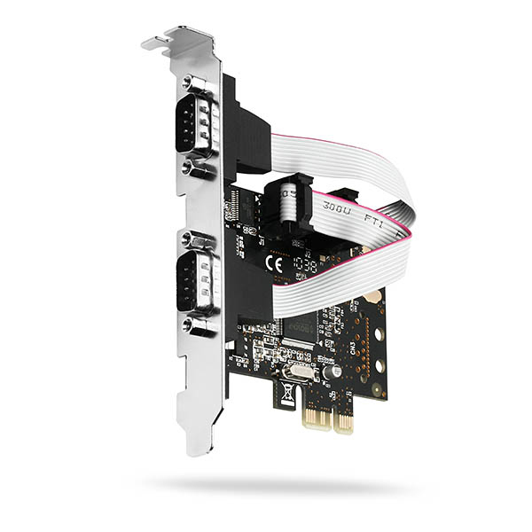 Axagon PCEA-S2 interface cards/adapter Serial Internal