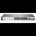 Hewlett Packard Enterprise Aruba 2530-24 Managed L2 Fast Ethernet (10/100) Grey 1U
