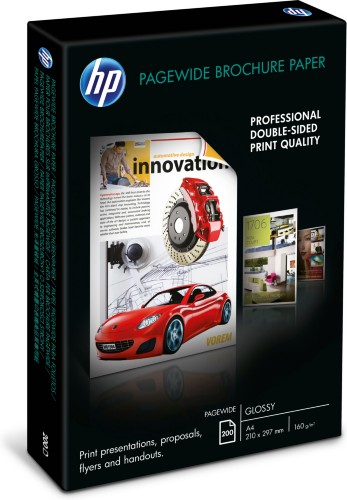 HP PageWide Glossy Brochure Paper-200 sht/A4/210 x 297 mm printing paper