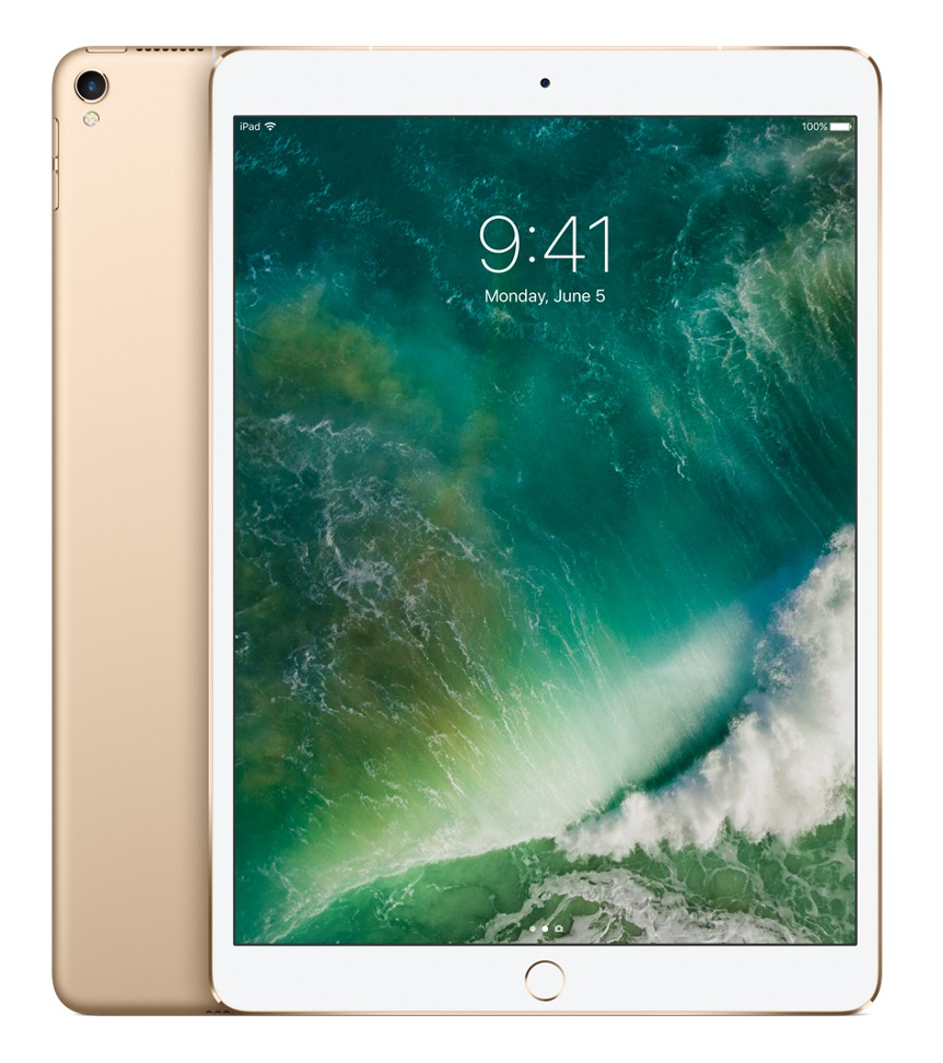 "Apple iPad Pro 26.7 cm (10.5"") 256 GB Wi-Fi 5 (802.11ac) 4G Gold iOS 10"
