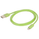 Urban Factory Cable USB to Lightning MFI certified - Green 1m