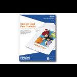 """Epson Iron-on Cool Peel Transfer - 8.5"""" x 11"""" - 10 Sheet papel para impresora de inyección de tinta dir"""