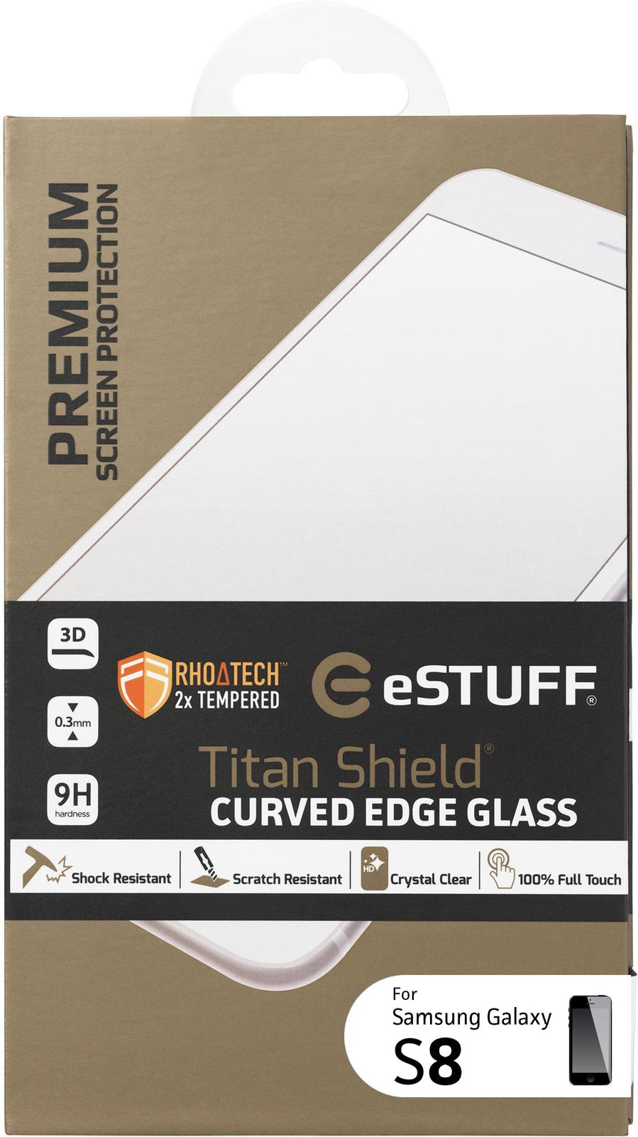 eSTUFF Samsung Galaxy S8 Clear screen protector Galaxy S8