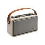 Goodmans HP1WHT radio Portable Digital Brown,Grey,White