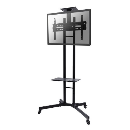 "Newstar Mobile LFD/Monitor/TV Trolley for 32-55"" screen, Height Adjustable - Black"