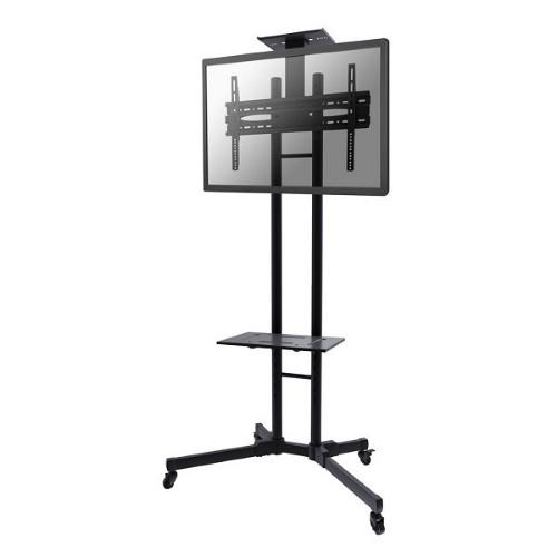 "Newstar Mobile Monitor/TV Floor Stand for 32-55"" screen, Height Adjustable - Black"
