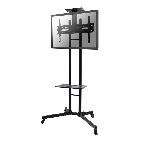 "Newstar Mobile Monitor/TV Floor Stand for 32-55"" screen, Height Adjustable - Black"