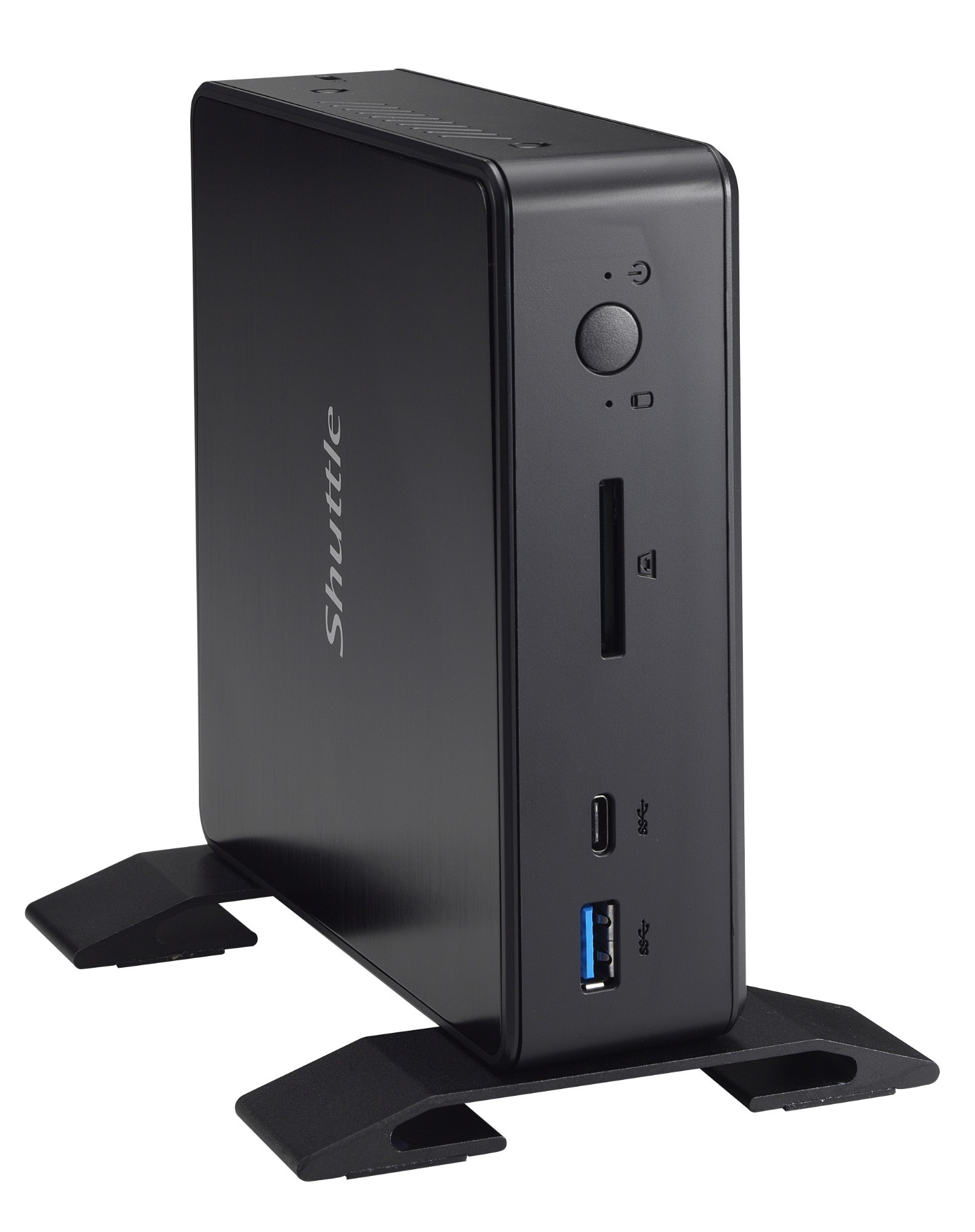 Shuttle XPC nano NC03U Intel SoC BGA 1356 1.8GHz 3865U Nettop Black PC/workstation barebone