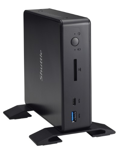 Shuttle XPC nano NC03U PC/workstation barebone 3865U 1.8 GHz Nettop Black Intel SoC BGA 1356