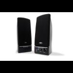Cyber Acoustics CA-2014WB loudspeaker 1-way 1.5 W Black Wired