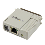 StarTech.com PM1115P2 Ethernet LAN Beige print server