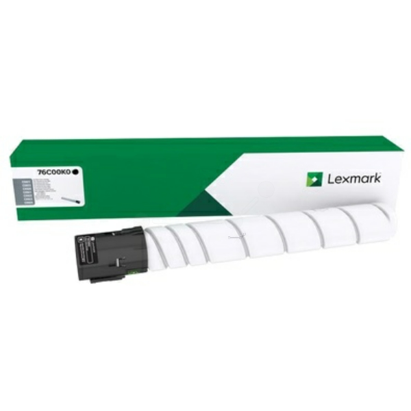 Lexmark 76C00K0 Toner black, 18.5K pages