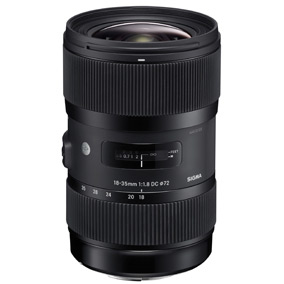 18-35mm f/1.8 DC HSM Black - Sony