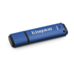 Kingston Technology DataTraveler Vault Privacy 3.0 4GB 4GB USB 3.0 (3.1 Gen 1) USB Type-A connector Blue USB flash drive