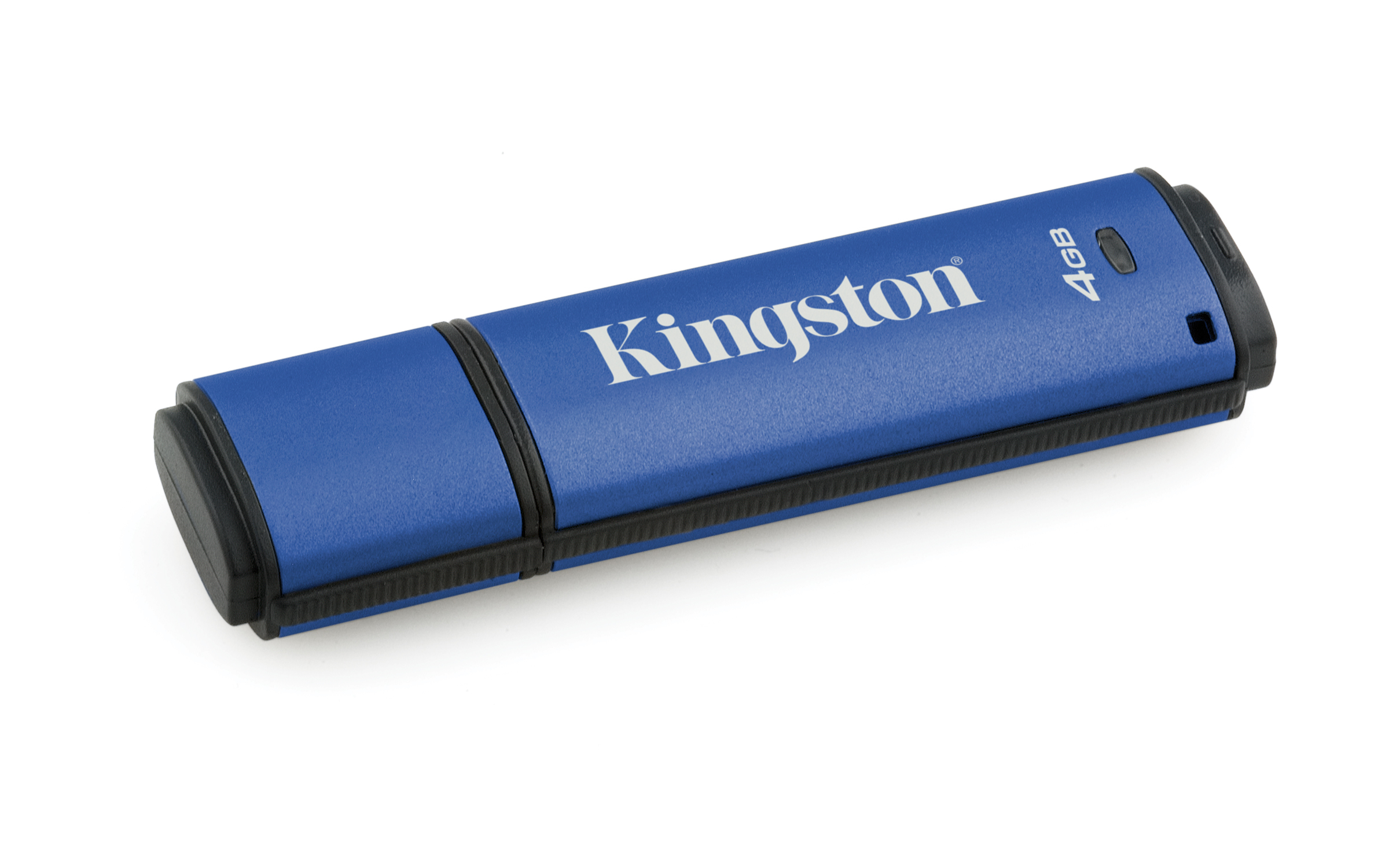 Kingston Technology DataTraveler Vault Privacy 3.0 4GB 4GB USB 3.0 Blue USB flash drive