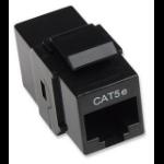 Intellinet RJ-45, Cat5e wire connector Black