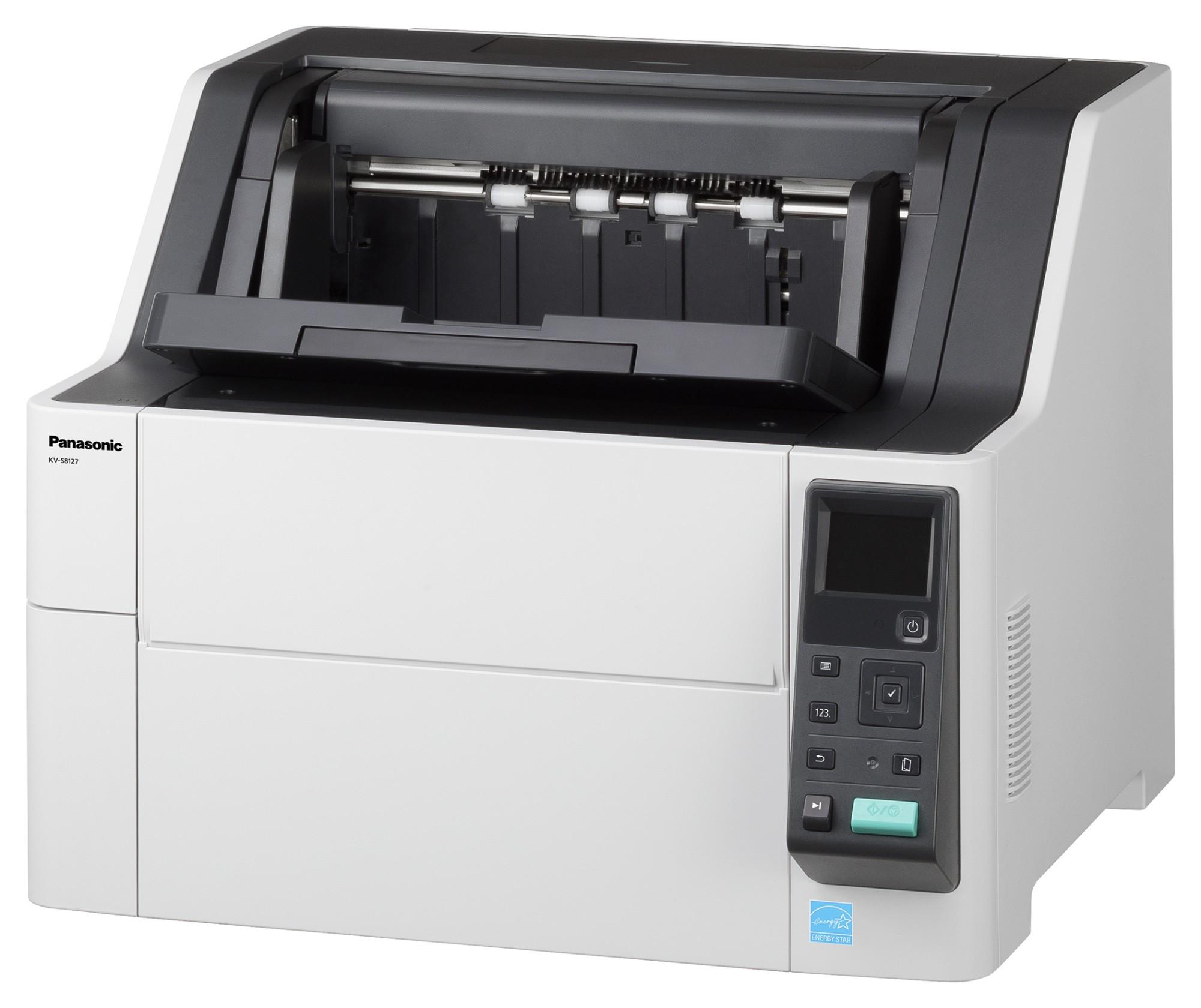 Panasonic KV-S8127 600 x 1200 DPI ADF scanner Black,White A3
