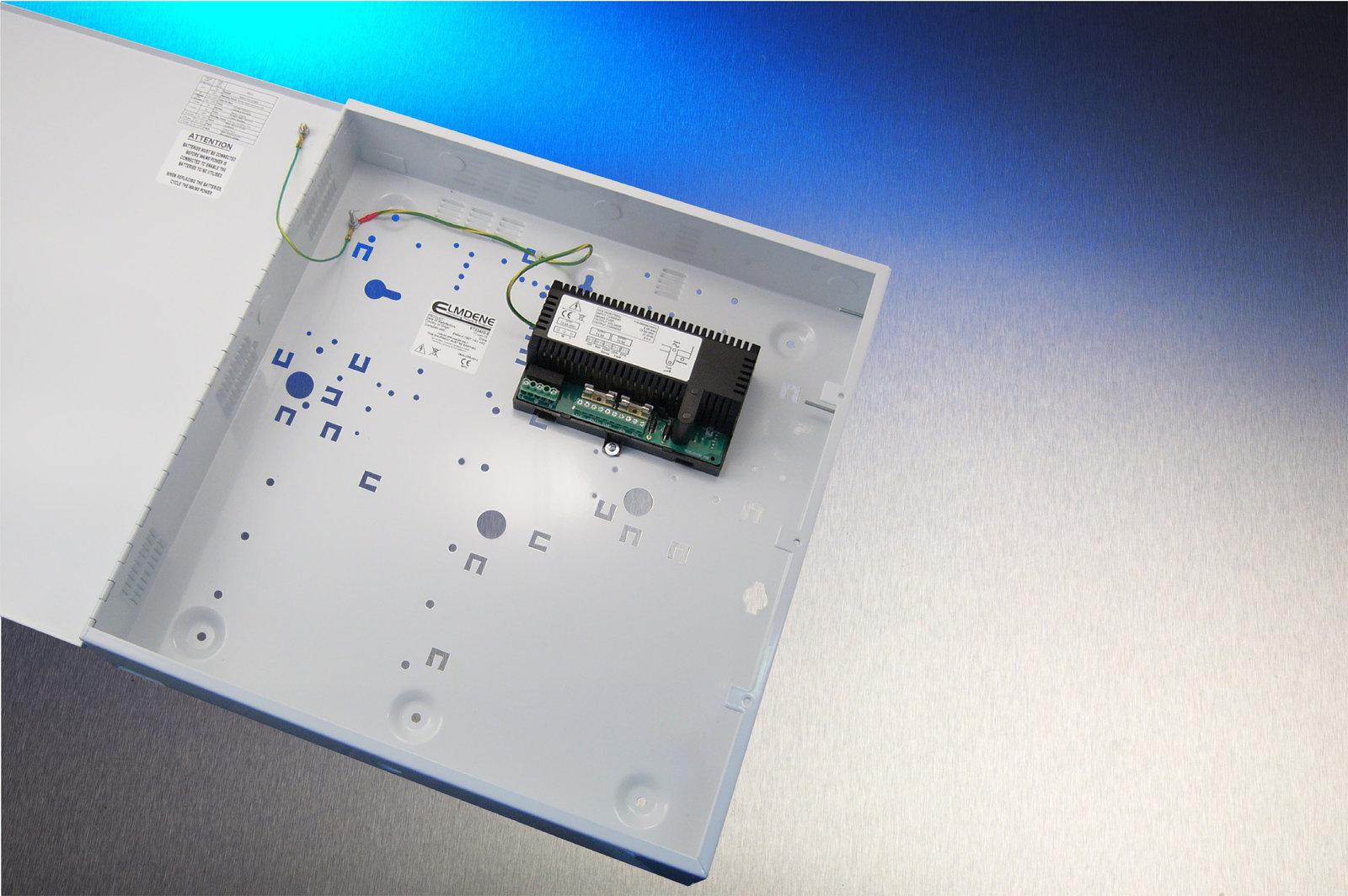 Elmdene EN54 PSU 24v2A E Box