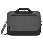 """Targus CypressEco notebook case 39.6 cm (15.6"""") Briefcase Black, Grey"""