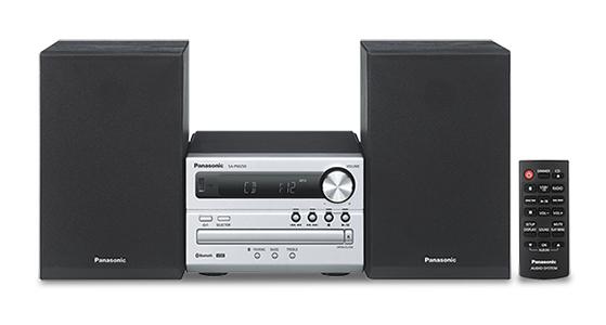Panasonic SC-PM250EC-S home audio set Home audio micro system Silver 20 W