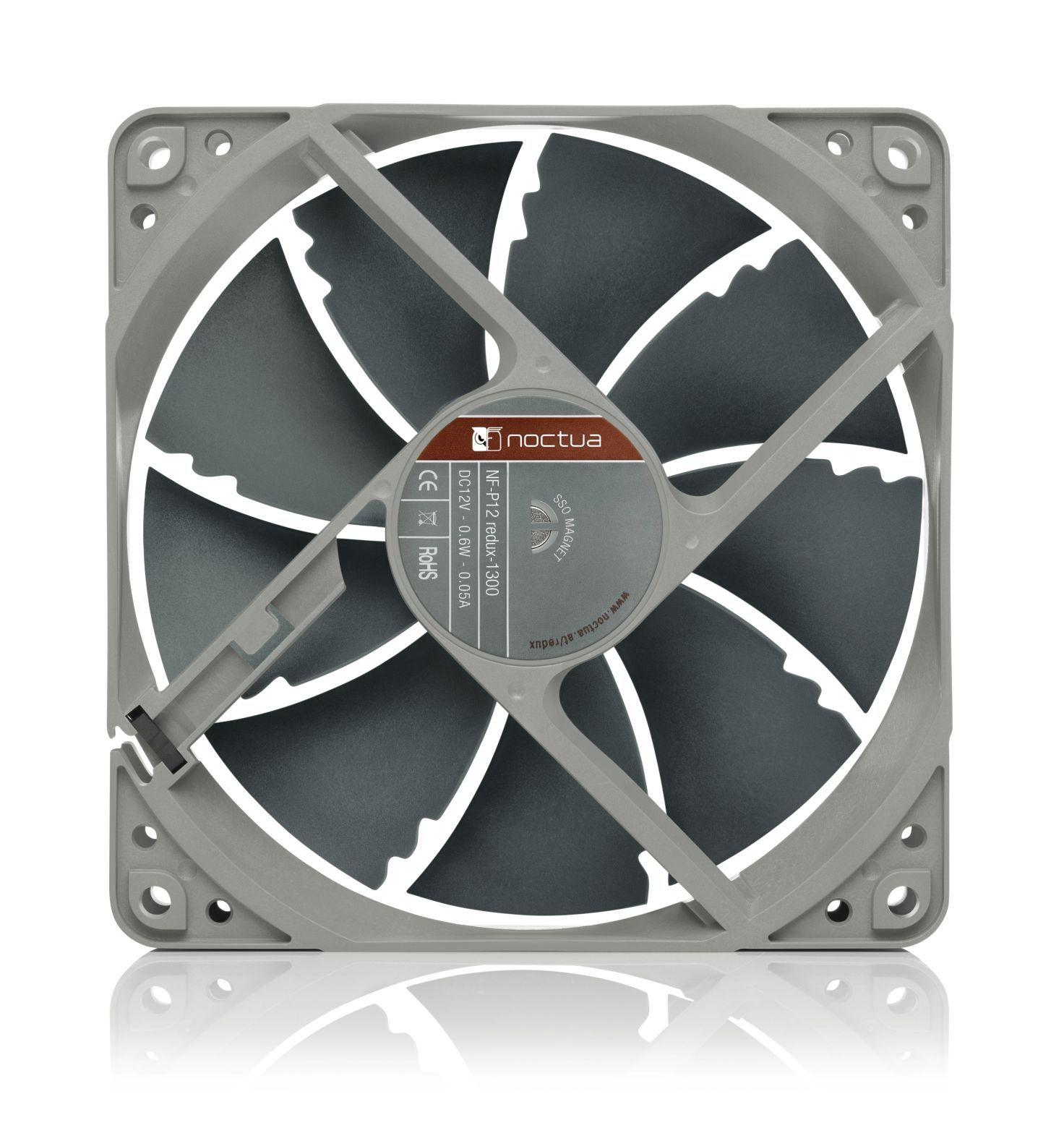 Noctua NF-P12 REDUX-1300 Processor Fan 12 cm Black 1 pc(s)