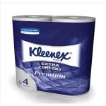 Kleenex T/Roll Wht 4Ply pkd 4 rolls 8474