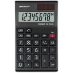 Sharp EL-310AN calculator Desktop Display Black, White