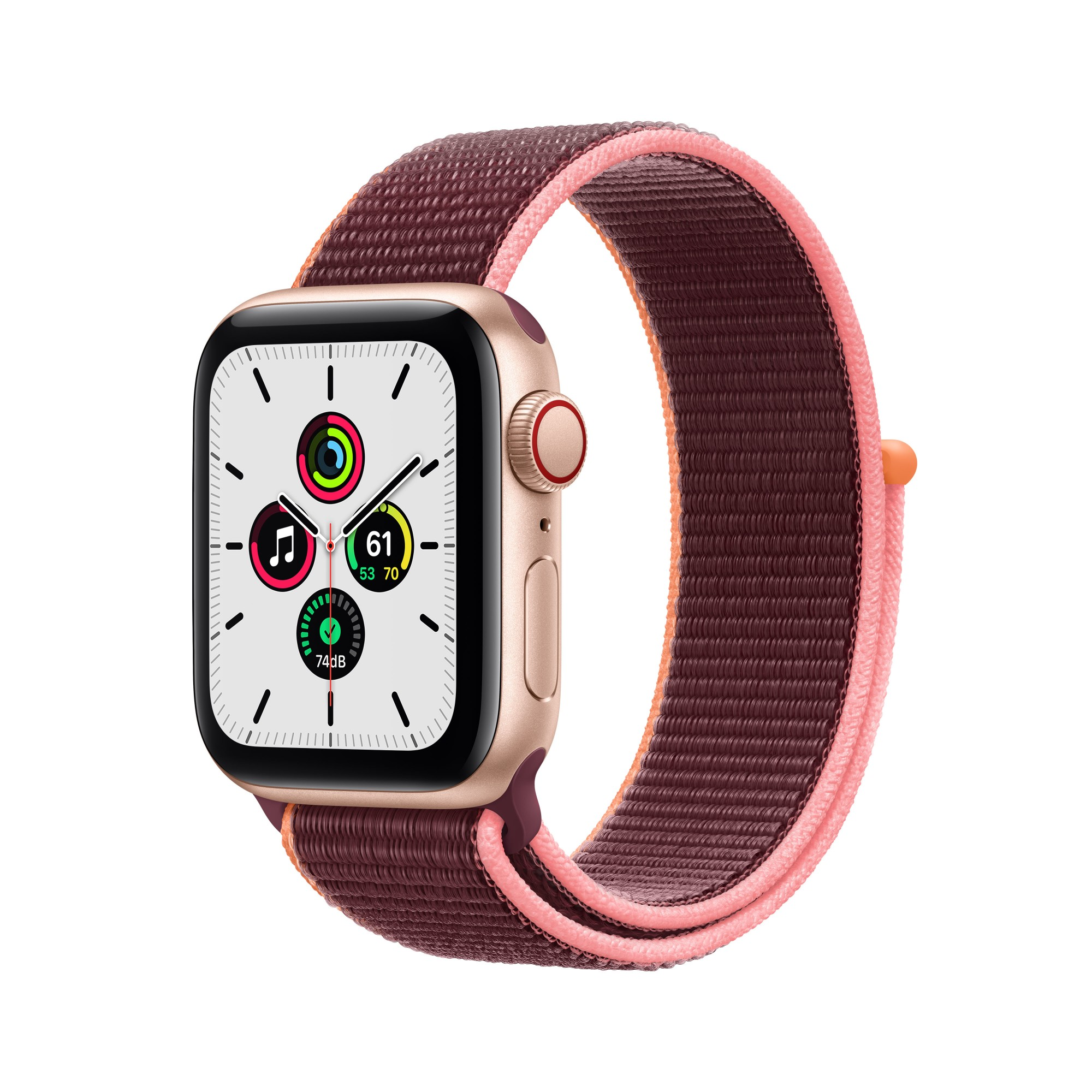 Apple Watch SE OLED 40 mm Oro 4G GPS (satélite)