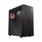 MSI MAG VAMPIRIC 010M Mid Tower Gaming 'Black, 1x 120mm RGB PWM Fan, RGB Front Panel, Tempered Glass Panel, ATX, mATX, mini-ITX'