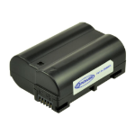 2-Power Digital Camera Battery 7V 1400mAh rechargeable battery