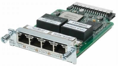 Cisco 4-Port T1/E1 Clear Channel High-Speed WAN Interface Card Internal switch component