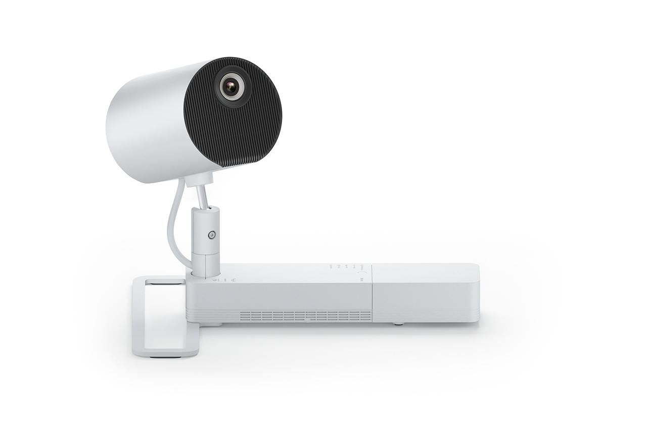 Epson - Stand for projector - white - floor-standing - for LightScene EV-100, EV-105
