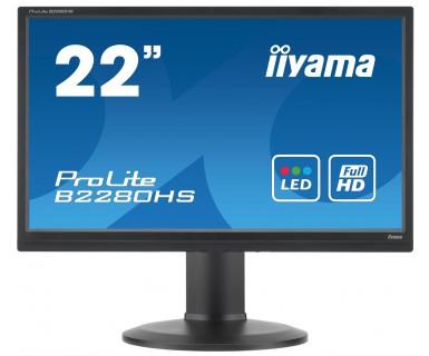 "iiyama ProLite B2280HS-B1DP 21.5"" Black Full HD"